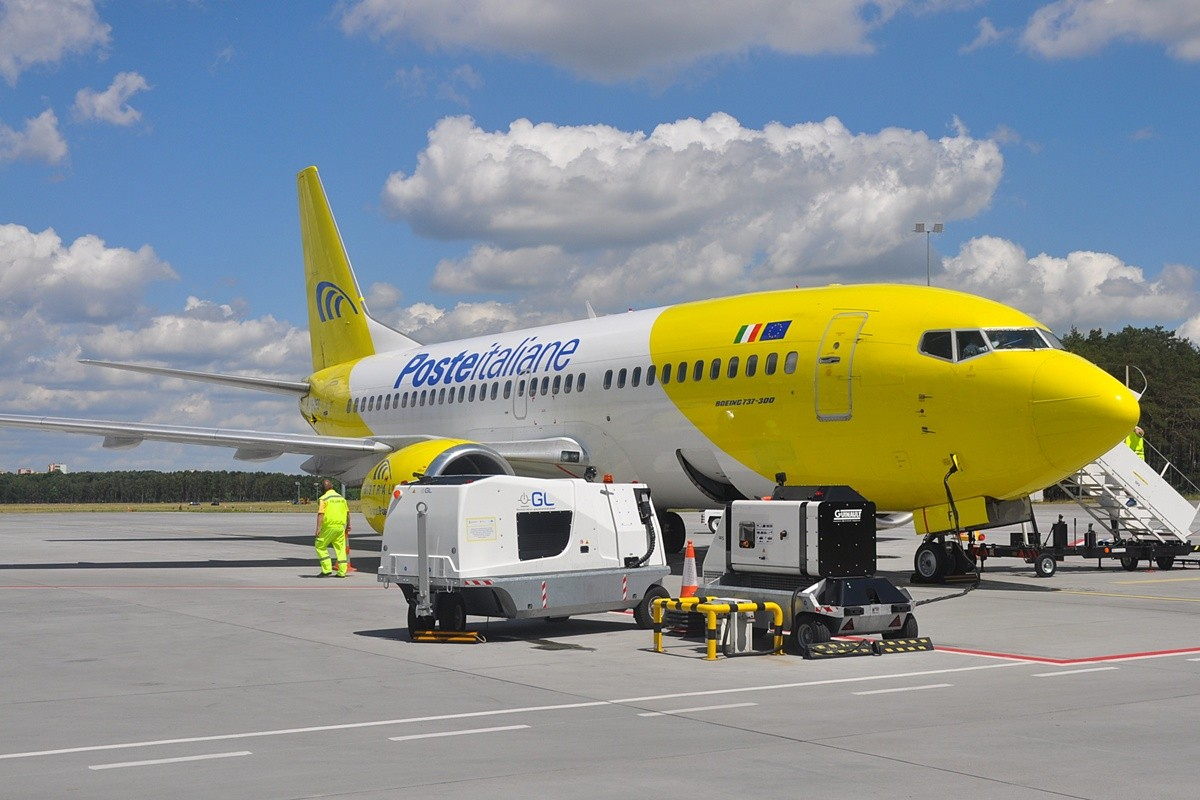 samolot, Rzym, Mistrail, lotnisko - ST_0839