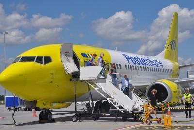 samolot, Rzym, Mistrail, lotnisko - ST_0854