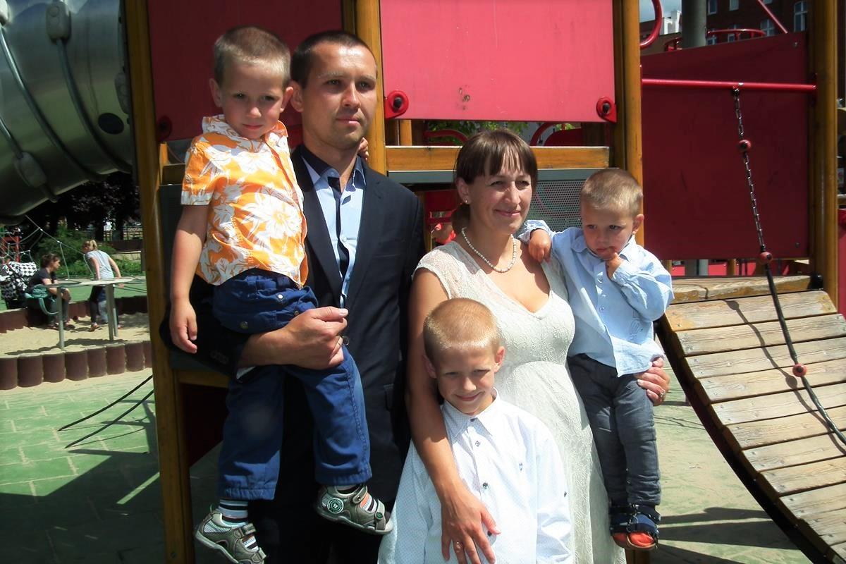 Rodzina Rusanovych z Donbasu
