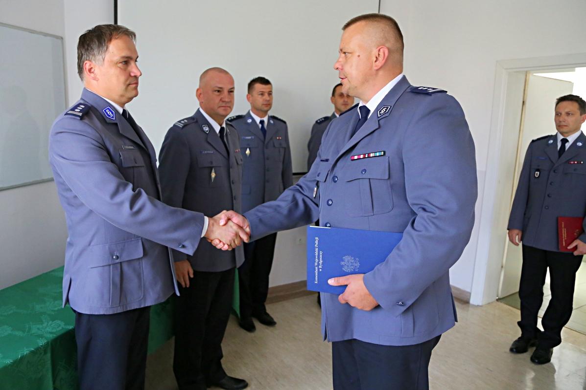 policja, insp Stachowiak, insp Spychała  - nadesłane