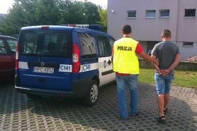 policja, zatrzymanie - nadesłane