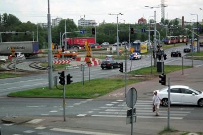 rondo Toruńskie, remont - SG