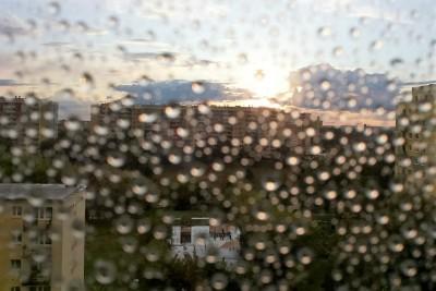 przejaśnienia z deszczem
