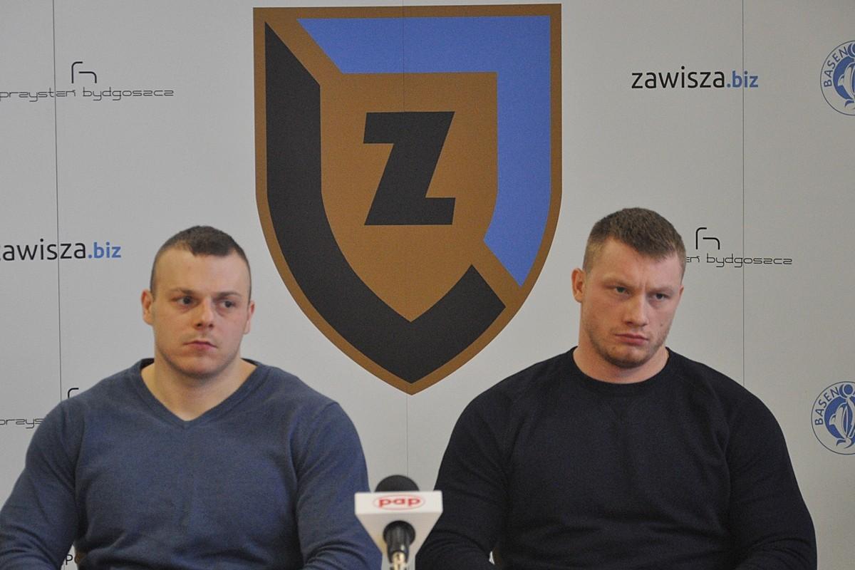 Adrian Zieliński, Tomasz Zieliński, Zawisza - ST