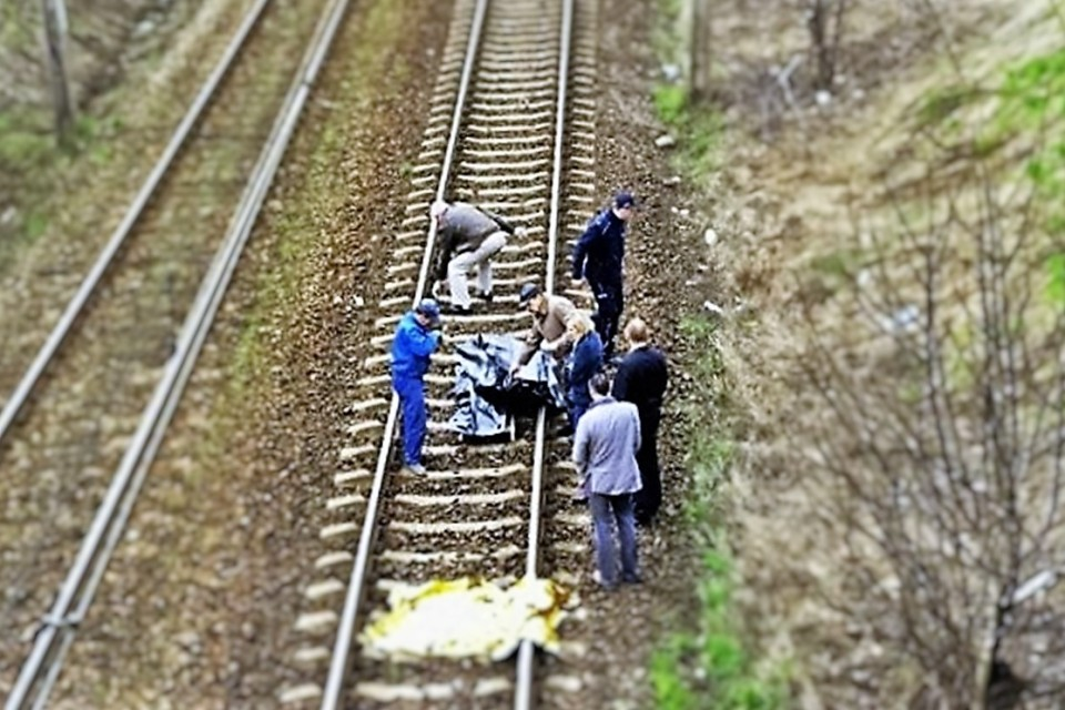 miejsce wypadku, pociąg, SG
