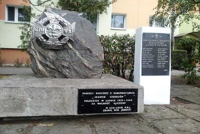 Odnowiony pomnik przy ul. Szarych Szeregów