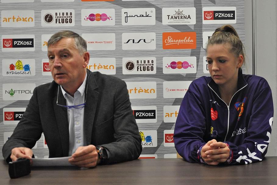 Tomasz Herkt, Klaudia Niedźwiedzka, Artego Bydgoszcz - ST