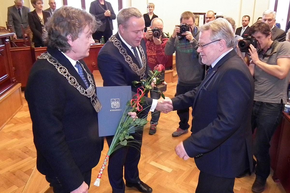Zbigniew Sobociński, Rafał Bruski, Waldemar Keister