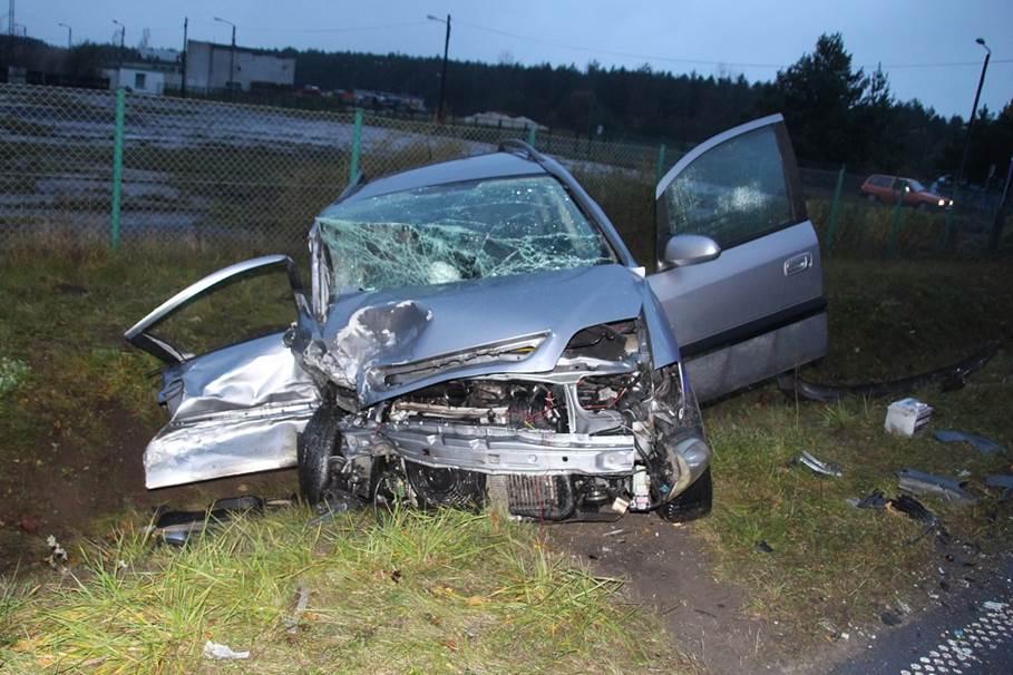 wypadek, Paterek - policja