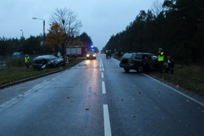 wypadek, Paterek, policja