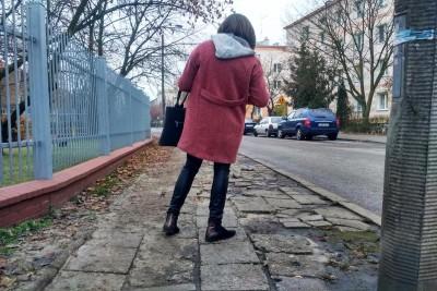 Chodnik przy ul. Łukasiewicza