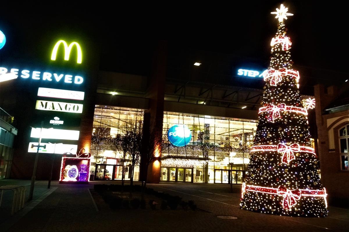 świąteczny Focus Mall