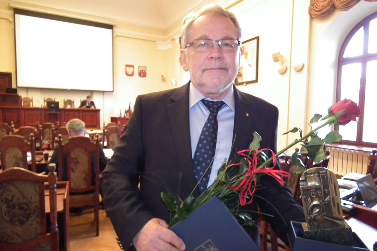 Waldemar Keister, prezes CWZS Zawisza - fot. Stanisław Gazda