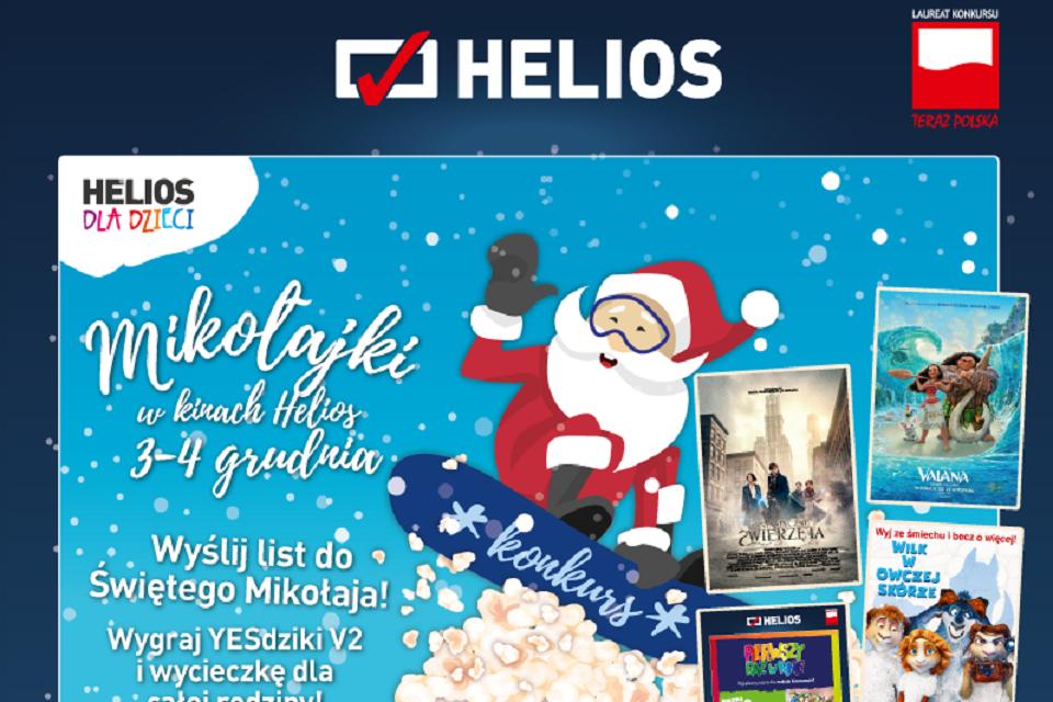 helios, mikolajki, promo