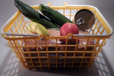 sklep spożywczy, zakupy, koszyk