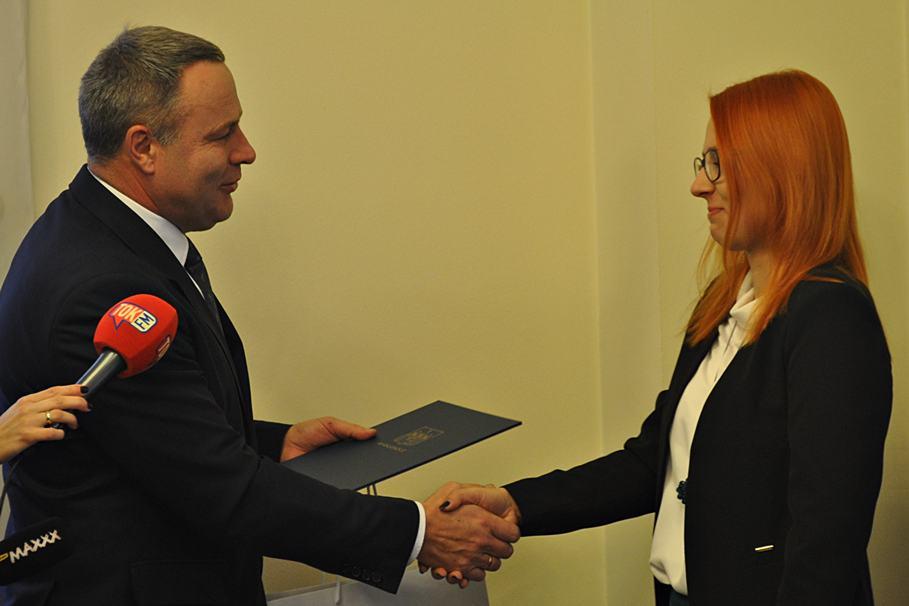 Rafał Bruski, tramwaj, Malwina Witucka - ST