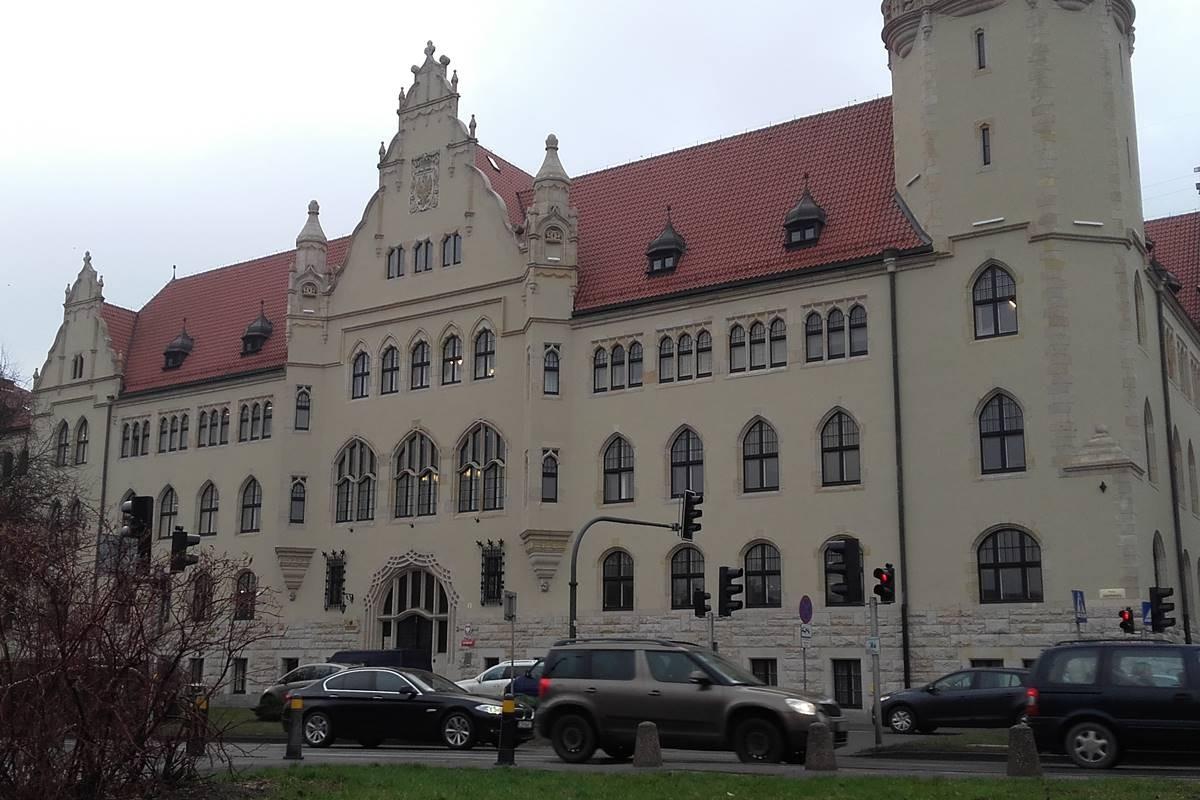 Sąd Okręgowy, budynek, Wały Jagiellońskie - JW