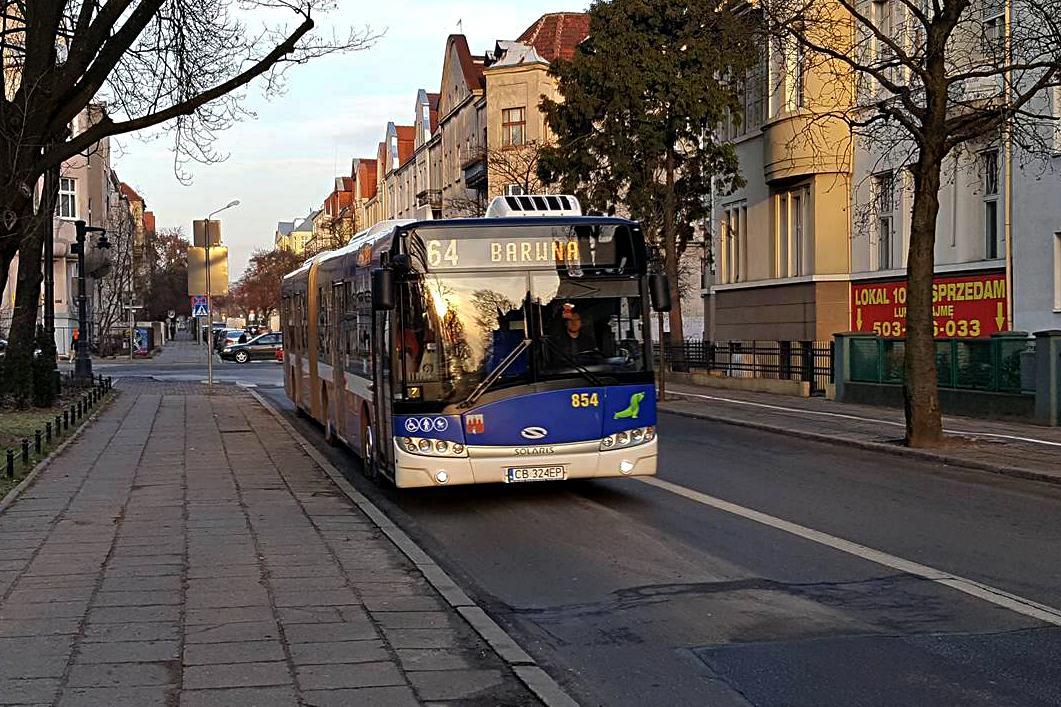 autobus, linia 64, Paderewskiego - ST
