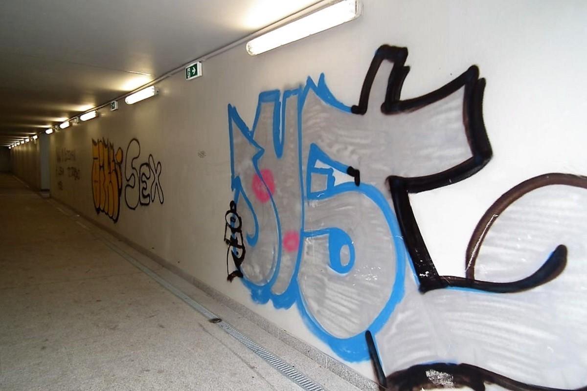 Bydgoszcz Leśna graffiti