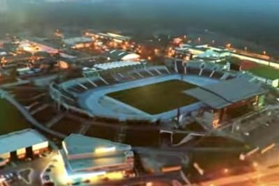 film promujący, uefa u21, stadion zawiszy - screen