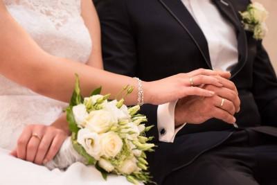 ślub, małżeństwo, obrączki