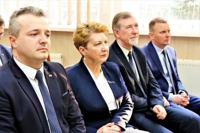 Minister Wargocka w ZSE