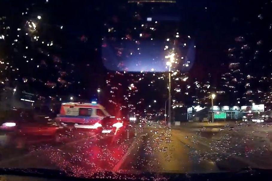 wypadek, fordońska, karetka