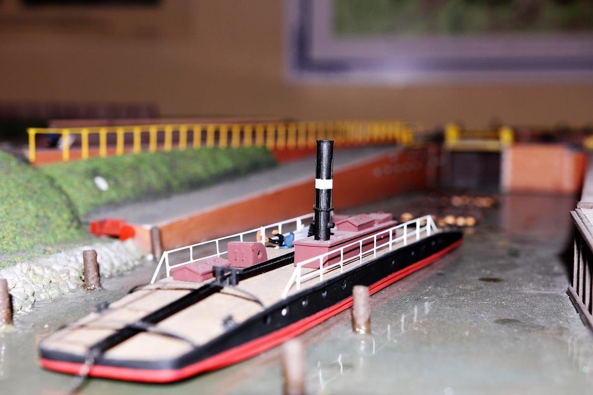ekspozycja w Muzeum Kanału Bydgoskiego