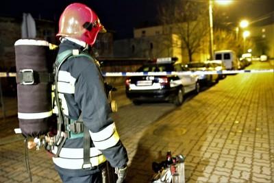 akcja straż policja Ugory Szwederowo