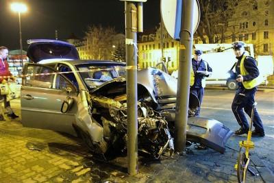wypadek, rondo Grunwaldzkie, policja - SG (8)