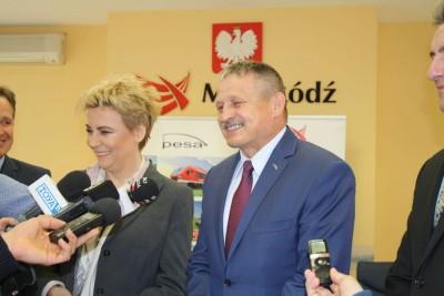 Hanna Zdanowska, Tomasz Zaboklicki, Pesa - mat prasowe