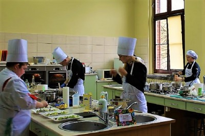 Konkurs w gastronomiku
