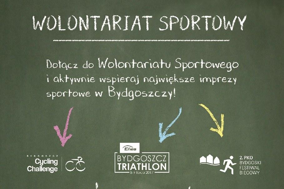 Plakat WolontariatSportowy