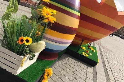 Wielkanocne jaja już na inowrocławskim Rynku 02