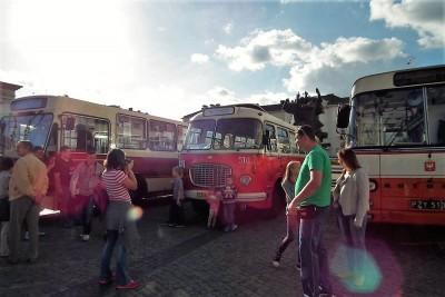 Zabytkowe autobusy, jelcze, ZDMiKP - SG