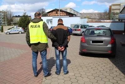 Zatrzymany 26-latek policja