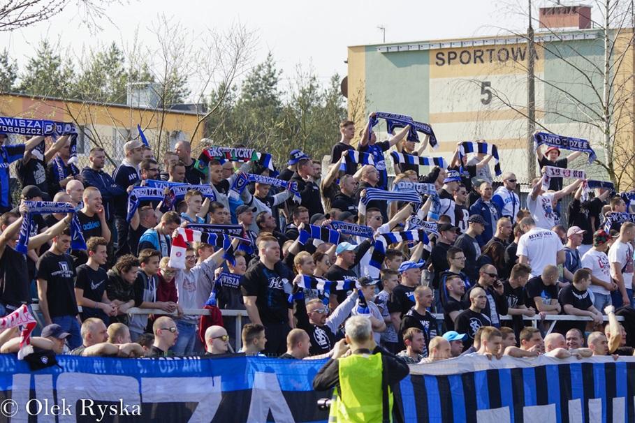 Zawisza Bydgoszcz - Wisła Fordon, fot Aleksander Ryska (6)