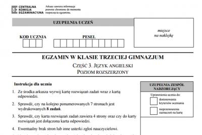 egzamin gim angielski screen