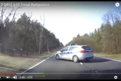 policja, wypadek, dybowo