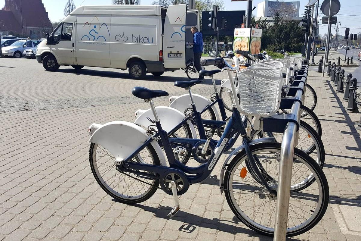 rower miejski, bikeu, bra - st