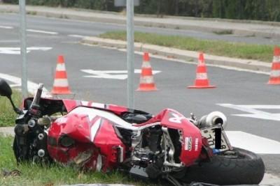 śmierc motocyklisty