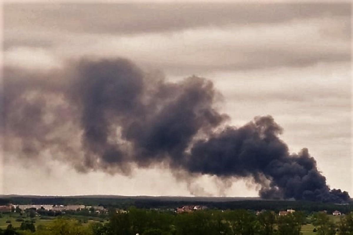 Pożar w Paterku