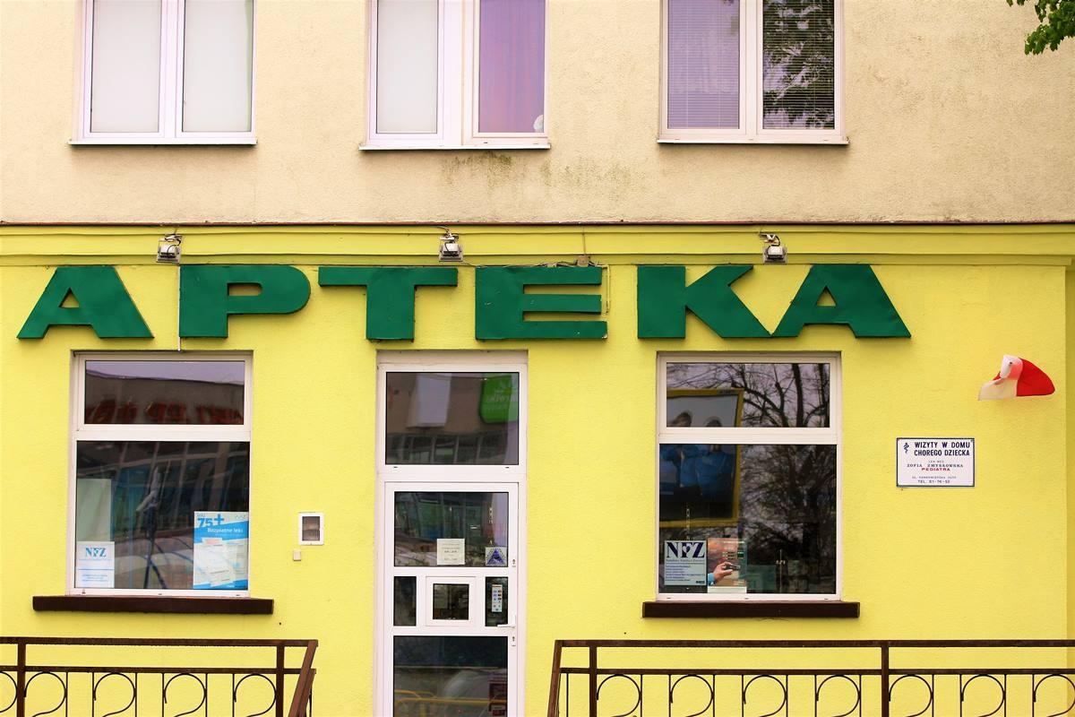 Apteka - fot. Stanisław Gazda