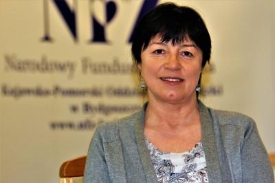 Barbara Nawrocka - rzecznik K-P OW NFZ - fot. Stanisław Gazda