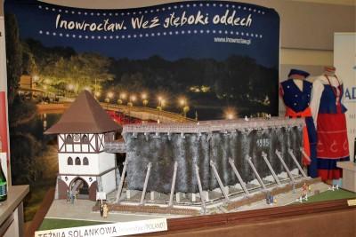 Makieta tężni w Inowrocławiu