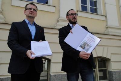 Karol Kwiatkowski, Paweł Skutecki - mat prasowe