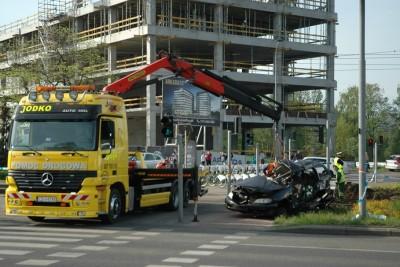 Wypadek tira na Rondzie Fordońskim_SG (1)