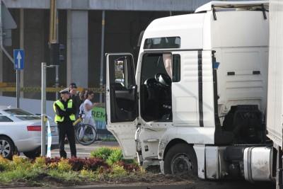 Wypadek tira na Rondzie Fordońskim_SG (10)