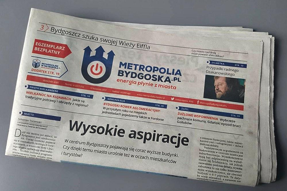 gazeta, okładka