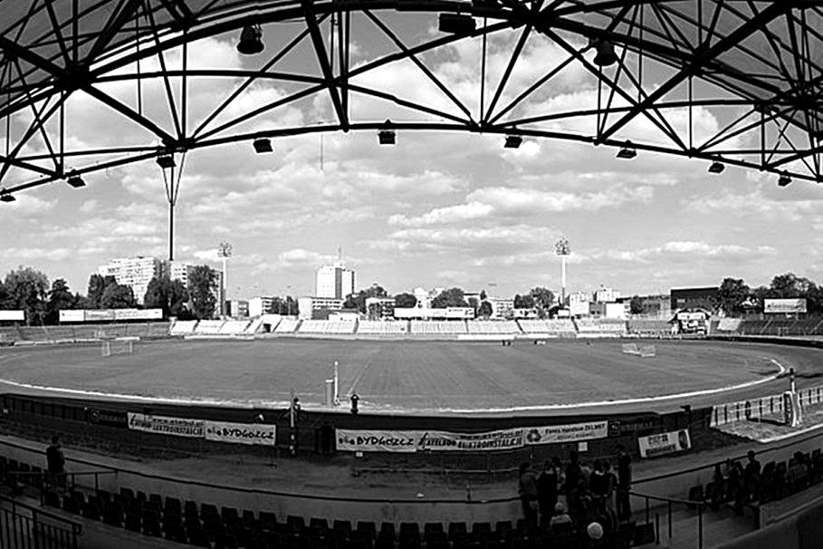 polonia stadion czarno białe